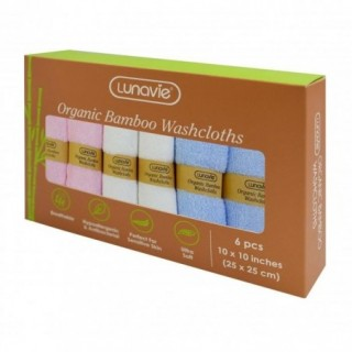 BAMBOO WASHCLOTH (6 PCS)