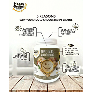 [New Formula] Happy Grains...